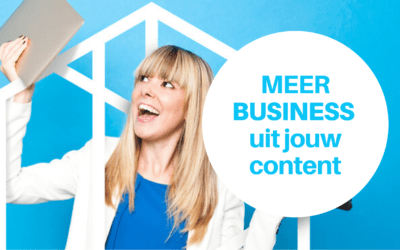 Online Opleiding Digitale Marketing: Haal meer business uit jouw content