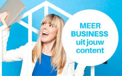 Online Opleiding Digitale Marketing: Haal meer business uit jouw content
